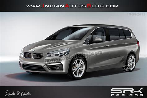 7 seater bmw bmw active tourer 7 seater mpv rendered