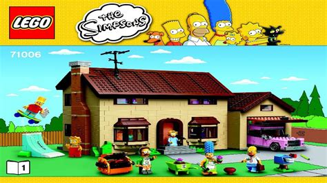 Harga Diskon Lego 71006 The Simpsons The Simpsons House 71006 lego simpsons house booklets