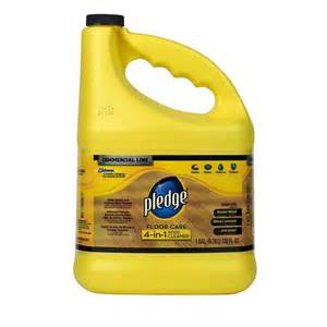 Pledge Wood Floor Cleaner Pledge 128 Oz Wood Floor Cleaner 605896 On Popscreen