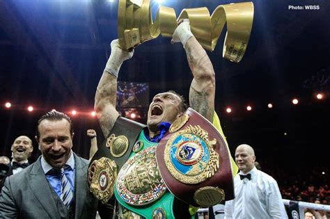 Hamed: Aleksandr Usyk would give Anthony Joshua a run for