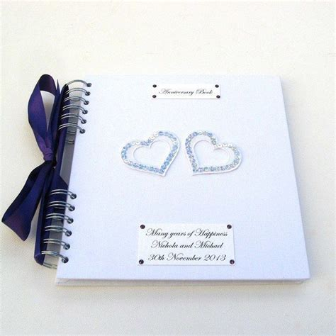 Wedding Anniversary Memory Book   Love and Marriage