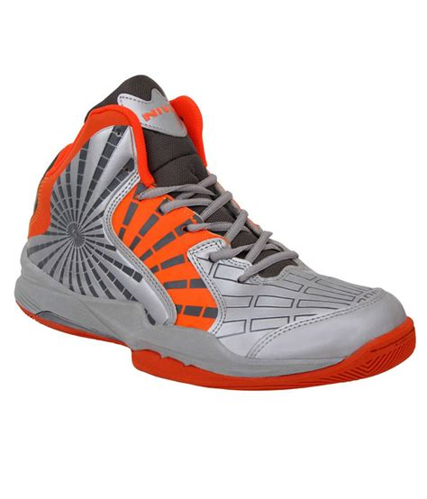nivia sport shoes nivia phantom orange basketball sports shoes buy