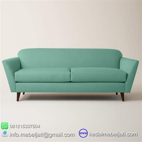beli sofa panjang vintage minimalis bahan kayu jati harga