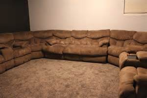 U Shaped Reclining Sectional by Best Oversize 5 U Shaped Sectional For Sale In