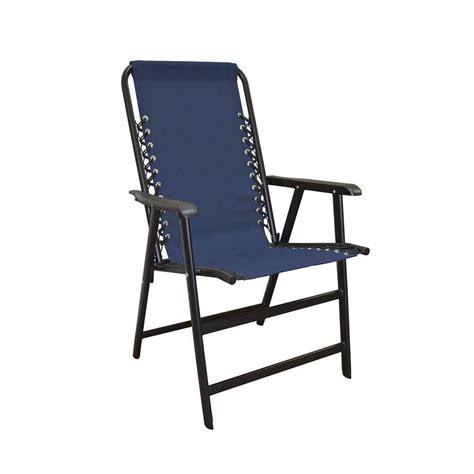 blue patio chairs caravan sports suspension blue patio chair 80012000020