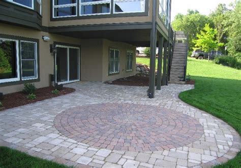Paver Patio Design by 25 Fascinating Paver Patio Designs Creativefan