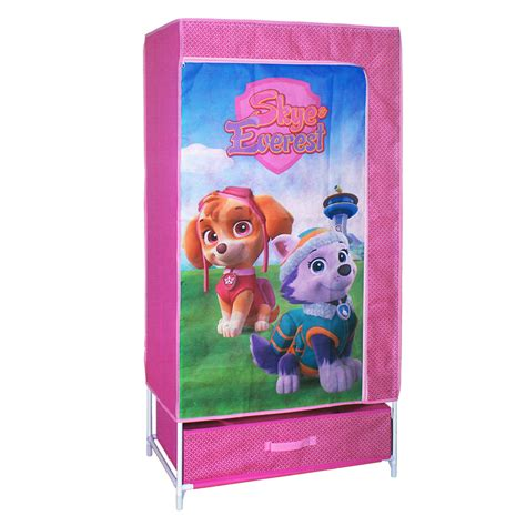 canvas fabric pop up wardrobe storage solution disney
