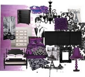 Paris Bedroom Ideas Paris Teen Bedroom Purple