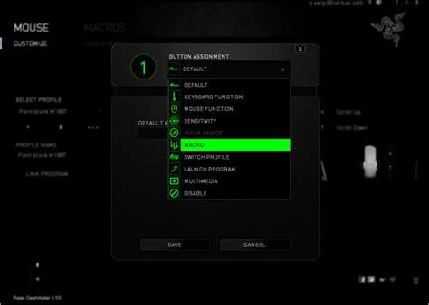 Mouse Macro Pb Termurah การต งค า macro razer deathadder สำหร บเกม pb