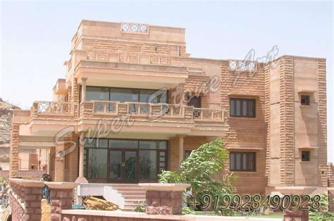 rajasthani home design plans stone front elevation in rajasthan joy studio design