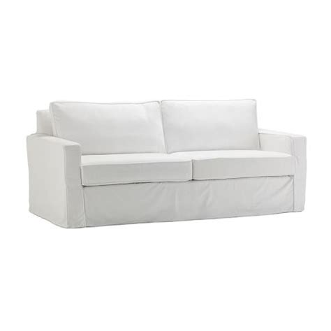 white slipcover for sofa west elm white slipcover for henry sofa living room