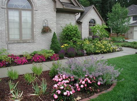 shrub and flower bed design