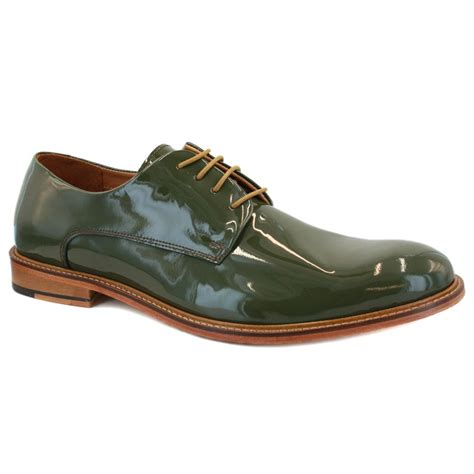 ted baker etter 2 9 12191 mens laced leather derby shoes green