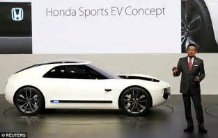 Two Seater Electric Car by Honda Sports Ev Is A Two Seat Electric Coupe Of The Future