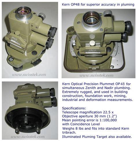 Optical Plumb by Swisstek Inc