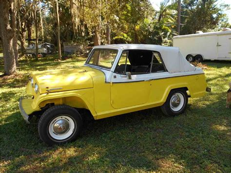 jeep convertible black 1967 jeep commando 4 x 4 convertible for sale