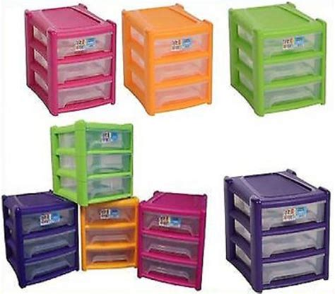 Paper Drawer Organizer by Shallow 3 Drawer Plastic Storage Unit For Office A4 Paper