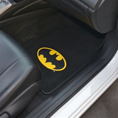 Batman Floor Rug by Officially Licensed Batman Set Seat Cover Floor Mat W