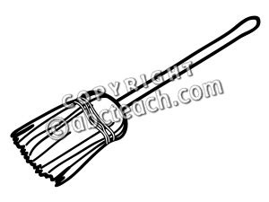broom tree coloring page sweep 20clipart clipart panda free clipart images