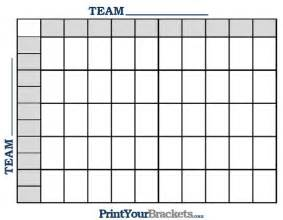 Football Blocks Template by Printable Ncaa Football Bcs Squares 50 Grid Office Pool Nfl