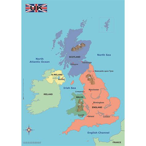 simple map simple map of the uk education