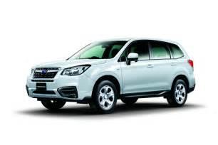 Subaru W Subaru Shows The Facelifted 2017 Forester