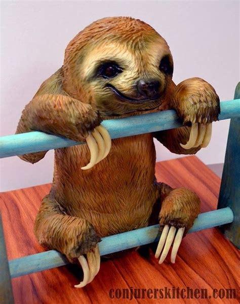 sloth cake cake decorating ideas