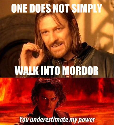 One Does Not Meme