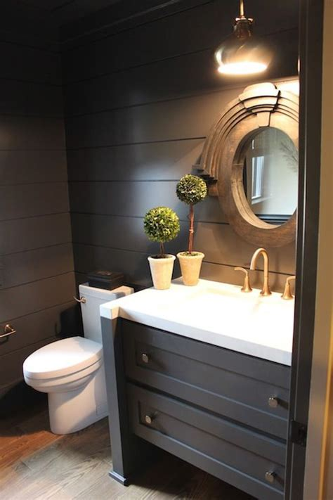 gray powder room ideas best 25 black powder room ideas on black