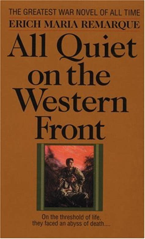 all on the western front book report all on the western front