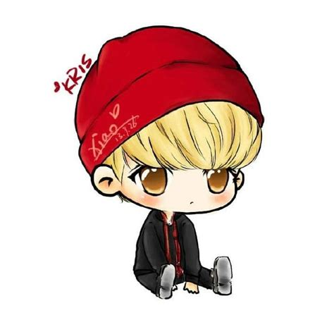 Kpop Chibi Drawing by 73 Best Exo Chibi Images On Kpop Fanart Chibi