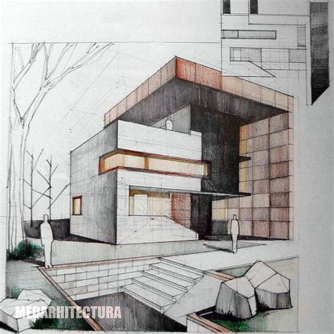 pin by matthieu mielvaque on architectural drawing pinterest colored pencil architectural rendering google search