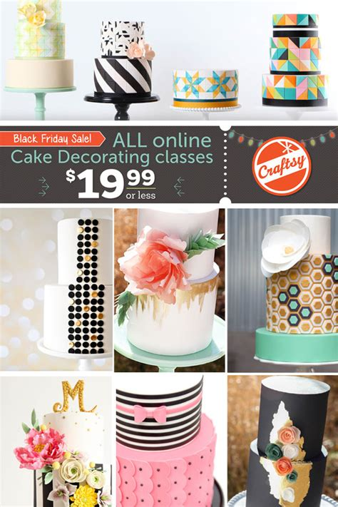 Cake Decorating Lessons by All Cake Classes On Sale