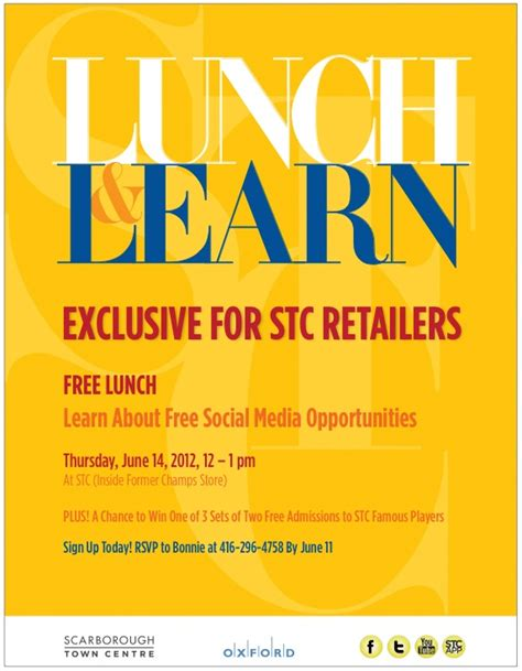 Lunch And Learn Template Lunch And Learn Invite Lunch Learn Pinterest Lunches Free Fitfloptw Info Lunch And Learn Presentation Template
