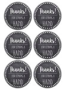 Free Printable Thank You Tags Template by Thank You Appreciation Tags Free Printable