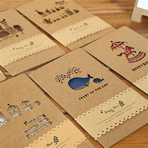 Handmade Card Company Names - vintage cutout greeting card handmade diy birthday