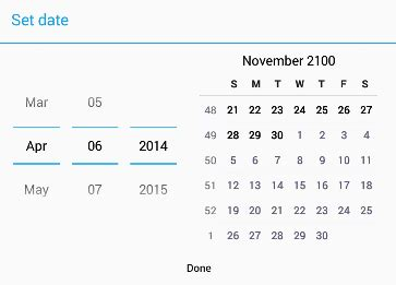 android calendar view  datepicker stack overflow
