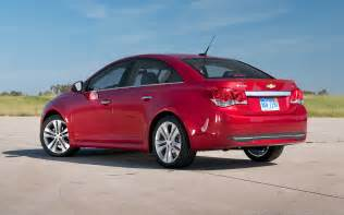 2011 chevrolet cruze ltz rs front thre quarters in motion