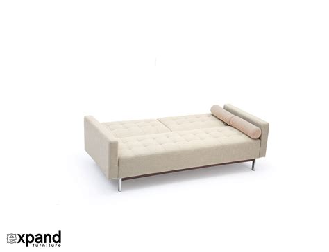 expand furniture the tilt sofa bed with tufted upholstery expand