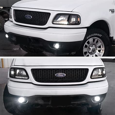 2003 ford f150 lights ford 1997 2003 f150 black 4pc corner lights ls w