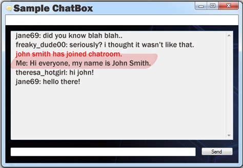 The Chat Room by Instylermax In Net About News Updates Home