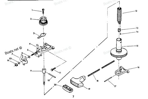 used chrysler outboard parts 9 9 1979 mercury chrysler outboard 92h9f starter diagram