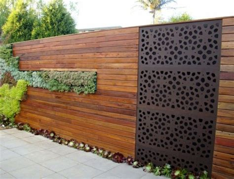 idea for wood metal mix decorations list of decorative fencing ideas homesfeed