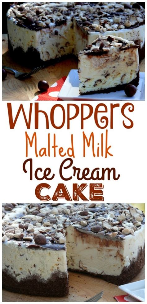 whoppers malted milk ice cream cake video noble pig