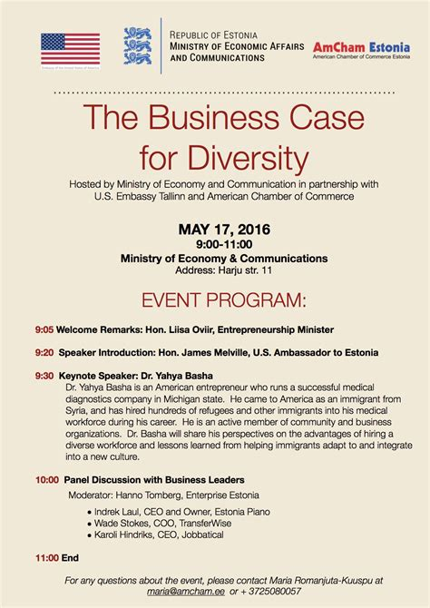 Columbia Mba Diversity Events by The Business For Diversity American Chamber Of