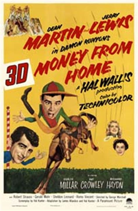 Money From Home by Money From Home Poster With Dean Martin Jerry