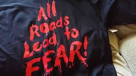 Horror Leads To by Horror Nights 2015 T Shirt All Road Lead To