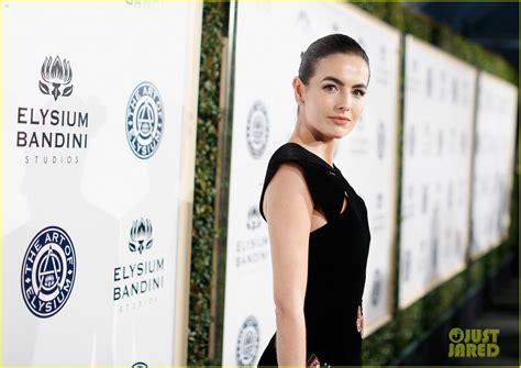 Awards Galas Crowd Pre Globes Weekend by Camilla Receives The Prestigious Spirit Of Elysium