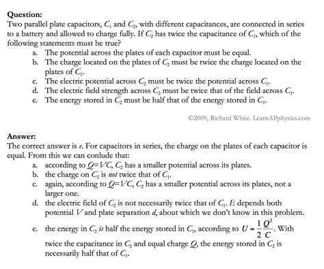 capacitor physics problems physics capacitor practice problems 28 images phylab educate capacitor and capacitance