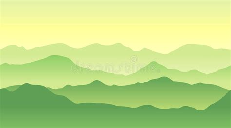 green wallpaper the range green mountains landscape in summer seamless background